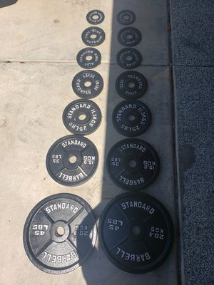Olympic weight plates for Sale in Goodyear, AZ