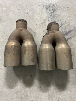 Set of Dual exhaust tips for Sale in Cary, NC