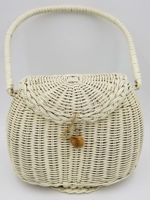 Vintage Wicker Purse for Sale in Sumner, WA