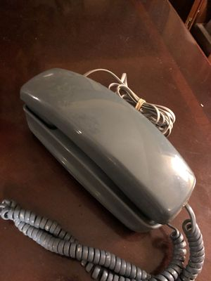 Vintage blue gray trim line 1980s southwestern bell telephone. Original retro. 18.00. 212 north Main Street Buda. 😀Johanna Antique sterling silver j for Sale in Buda, TX