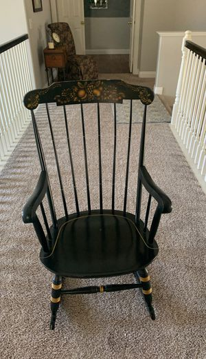 Antique all wood rocking chair for Sale in Riverside, CA