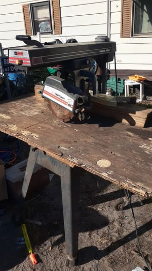 "Craftsman 10"" radial arm saw for Sale in Bartow, FL"