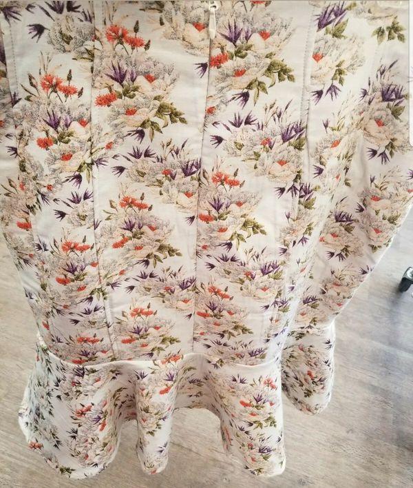 Eva Mendes Collection Flounced Skirt 14