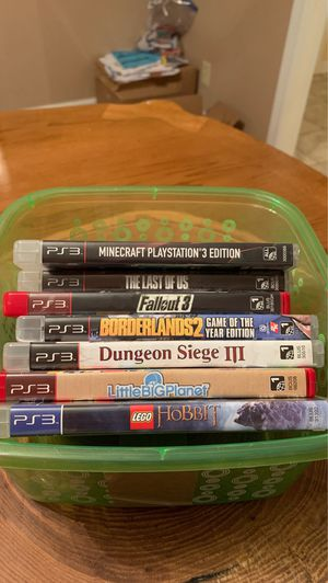 PS3 games for Sale in Clarksville, TN