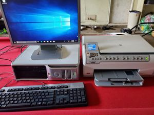 Computer, Monitor, & Photo Printer for Sale in Flint, MI