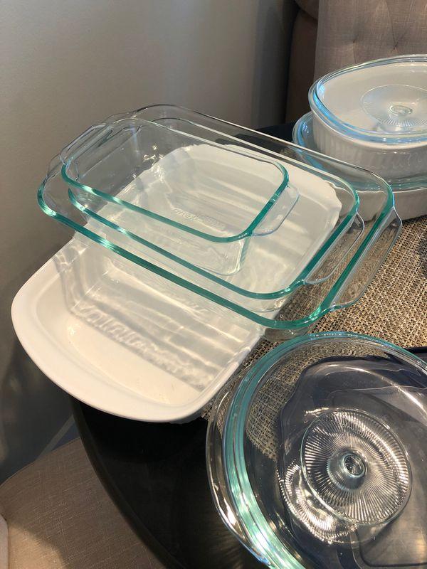 Full pyrex and Corningware set