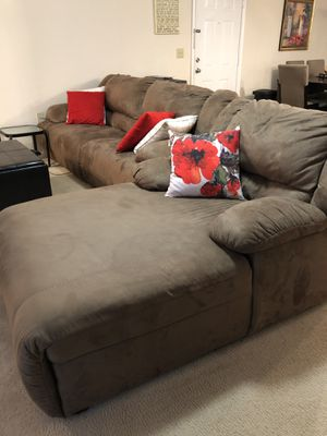 Sofa and Chaise for Sale in Haymarket, VA