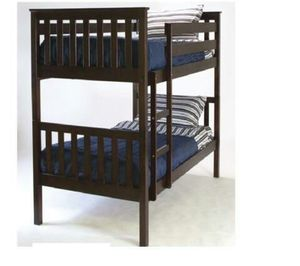NEW WOOD BUNK BED TWIN OVER TWIN WITH MATTRESS INCLUDED for Sale in West Palm Beach, FL