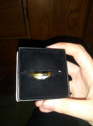 Gold ring pm for more info for Sale in Fort Wayne, IN