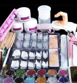 Acrylic nail kit with EMA Liquid Monomer Acrylic Nail 16 oz!!!!! for Sale in Hacienda Heights,  CA