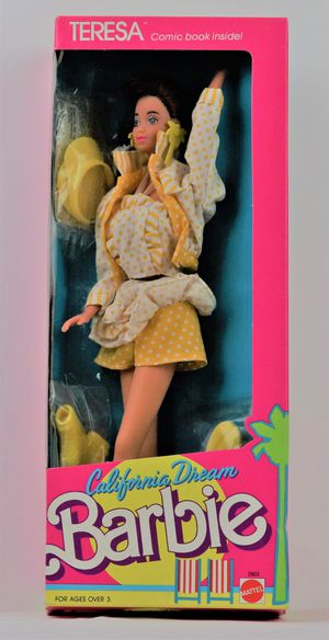 Vintage Teresa California Dream Barbie Doll 1987 for Sale in Oakland, CA