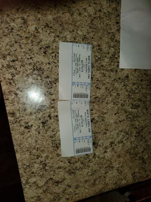 Carolina tickets for Sale in Thomasville, NC