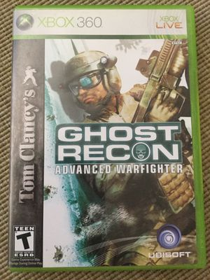 Ghost Recon Original XBOX 360 Video Game / Check my page for more Games ! 😎👍 for Sale in Alexandria, VA