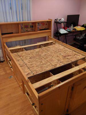 Bed Frame w/ Storage for Sale in Sterling, VA
