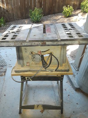 Free table saw for Sale in Crestline, CA