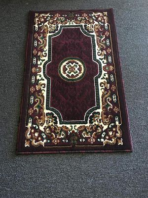 Burgundy color door mat size area rug brand new for Sale in Salem, OR
