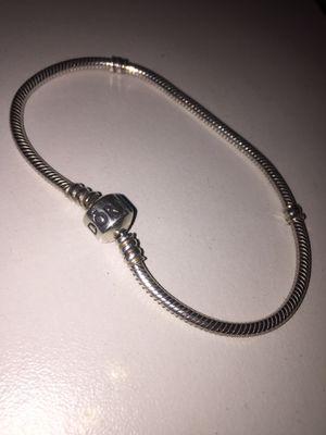 Pandora , .925 sterling silver snake chain bracelet for Sale in Glendale, AZ