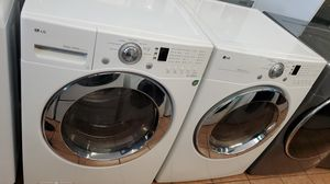 Lg washer and dryer white for Sale in Stanton, CA