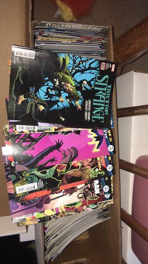 box of DC and Marvel Comics. 20 plus comics for Sale in Ashburn, VA