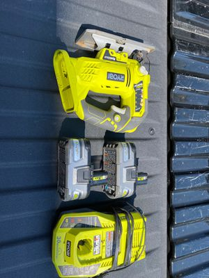 RYOBI Jig Saw 18v Includes two Lithium+HP batteries and charger! for Sale in Houston, TX