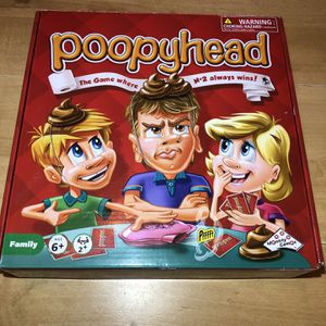 Poopyhead Game (All Pieces Included) for Sale in Burrillville, RI