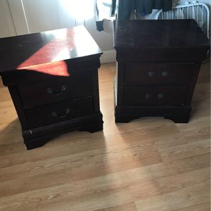 Matching Nightstands/End Tables for Sale in West Greenwich, RI