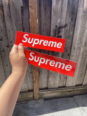 Real supreme box logo sticker for Sale in Castro Valley, CA