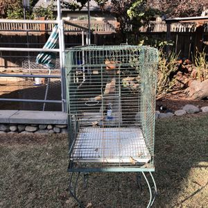 Bird Cage With Stand for Sale in Pasadena, CA