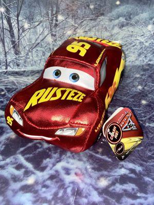 """Brand new Disney Pixar CARS Lightning McQueen 7"""" plush for Sale in Bellflower, CA"""