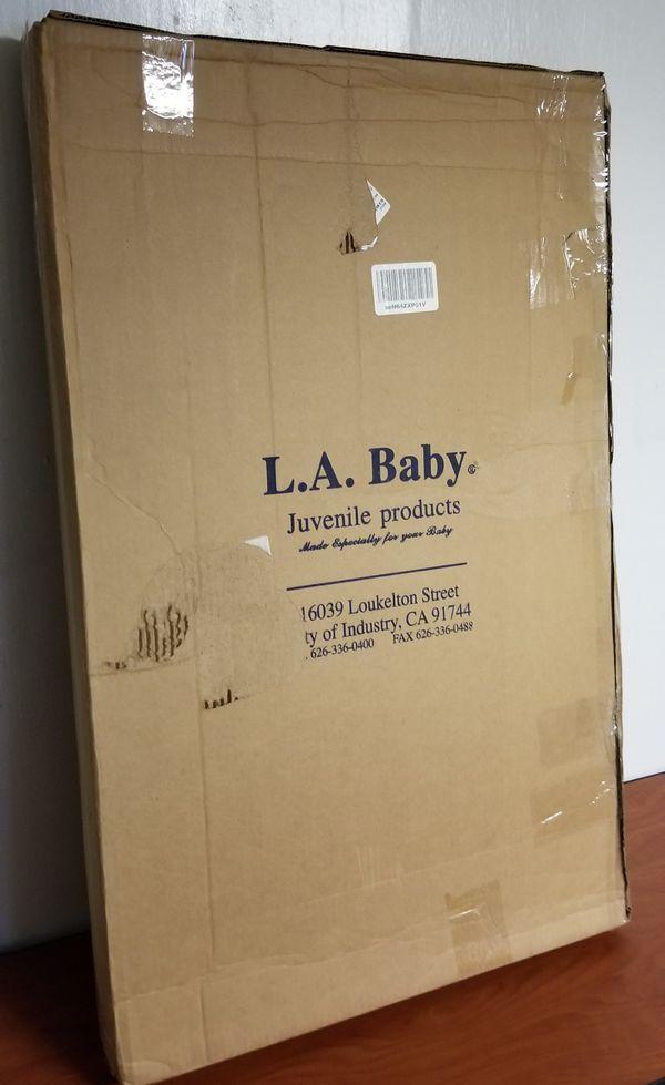 L.A. Baby Portable Crib Mattress P-3505-V