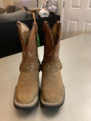 Girls cowboy boots for Sale in Hollister, CA