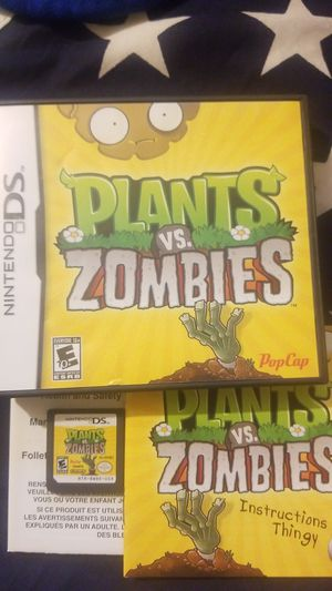 Plants Vs. ZOMBIES (DS) for Sale in Houston, TX