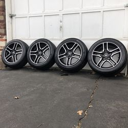 """18"""" Mustang GT Rims And Tires for Sale in West Orange,  NJ"""