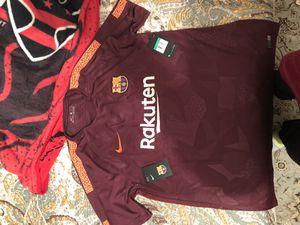 Fc barcelona jersey for Sale in West Springfield, VA