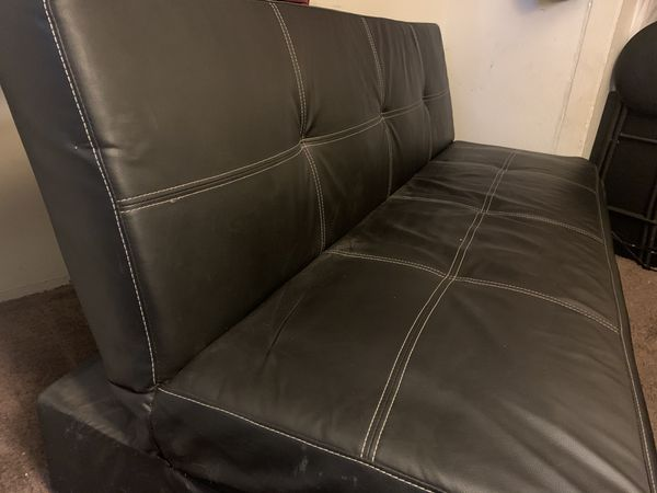 Black Futon / Sofa Bed / Couch
