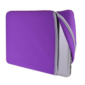 "SlickBlue Neoprene Sleeve for 13"" MacBook / MacBook Pro / MacBook Air & Windows PCs (Purple/Gray) for Sale in Fremont, CA"