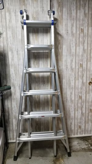 Werner new ladder:3 in 1 step,straight,scaffold for Sale in Hacienda Heights, CA
