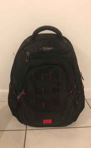 Samsonite backpack like new !! Lots of pockets 15'' laptop sleeve for Sale in Miami Beach, FL