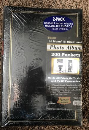 2 photo albums (unopened) for Sale in Marquette, MI