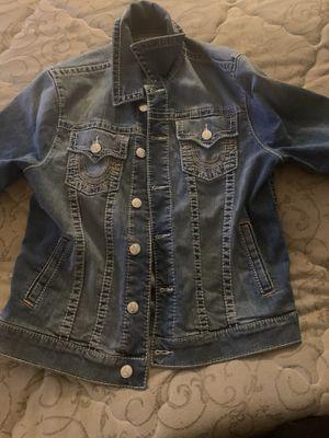 True religion jean jacket size medium for Sale in Washington, DC