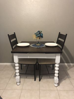 Small Dining Table and Two Chairs for Sale in Scottsdale, AZ