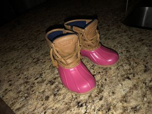 Little Girls Sherry Duck Boots for Sale in Westerville, OH