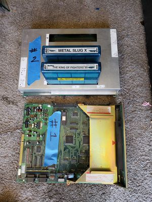 Arcade jamma neo geo game boards lot for Sale in Westminster, CA