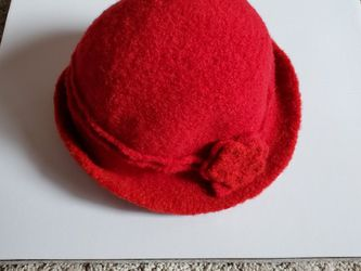 Pinup Style Wool Felt Cloche Hat for Sale in Portland,  OR