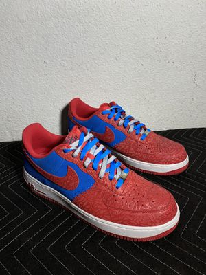 Nike Air Force 1 Low Photo Blue Hyper Red Size 11.5 for Sale in DC, US