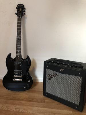 Epiphone SG & Fender Mustang amp for Sale in Vancouver, WA
