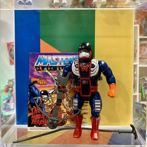 Vintage Heman and the Masters of the Universe Dragstor Action Figure Complete With Rip Cord, Mini Comic And Weapon Accessory, MOTU Toy for Sale in Elizabethtown, PA