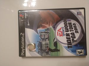 PS2 Tiger Woods PGA Tour 2003 for Sale in Ramona, CA