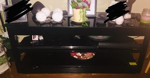Black tv stand for Sale in Coral Gables, FL