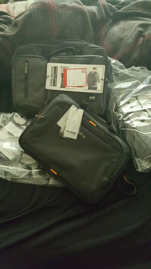 2 convertible laptop briefcases NEW for Sale in East Cleveland, OH